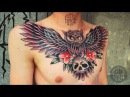 RITUAL TATTOO, Нанесение тату - Tattoo in process by Alena Revolver Делаем сову)
