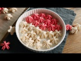 ( https://vk.com/lakomkavk) БЕЗЕ. Cherry Blossom Meringue Cookies