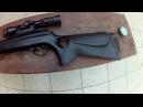 Пневматическая винтовка 450 м с Самая мощная воздушка в мире Pneumatic rifle 450m s