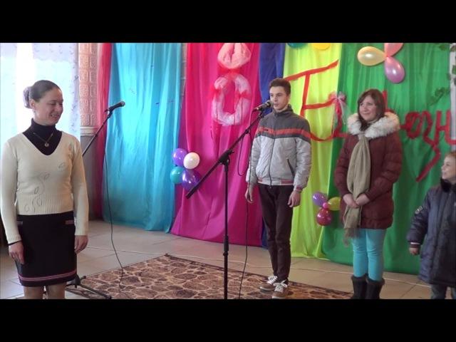 Білокуракине. СБК Дружба. Конкурс - Танці з зіркою, 05.03.2017