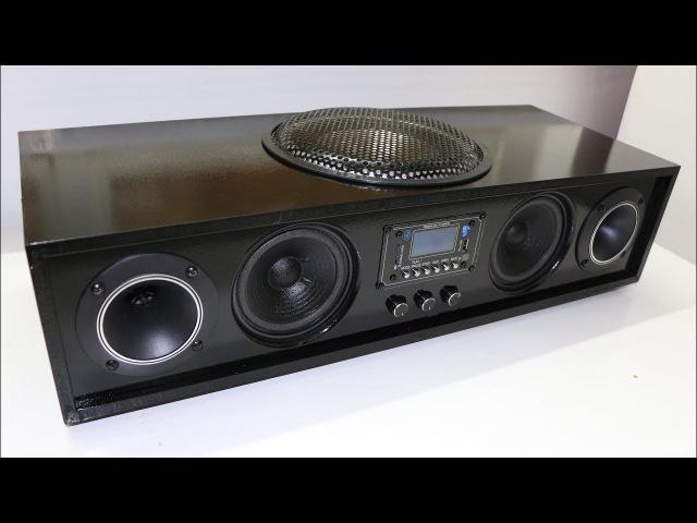 DIY Homemade HiFi Soundbar REAL