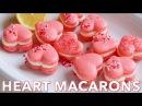 Dessert Heart Macarons Recipe with Lemon Buttercream Natasha's Kitchen