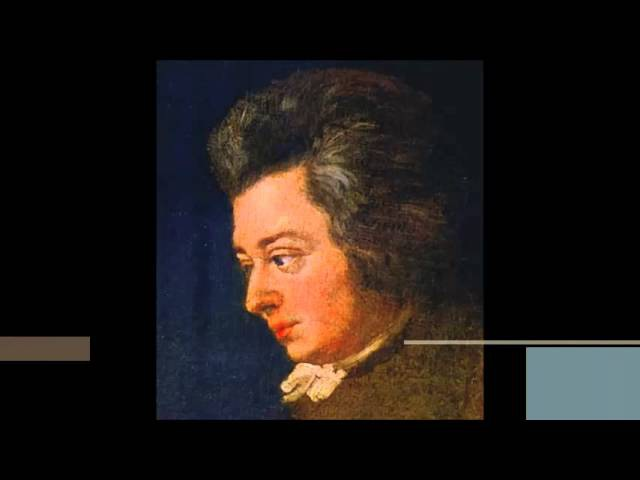 W. A. Mozart - KV 617 - Adagio Rondo for glass harmonica in C minor