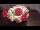 Комнатный цветочный горшок своими руками