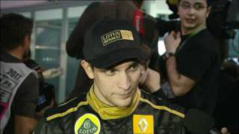 F1 2011 PostRace Forum BBC Vitaly Petrov australia