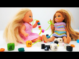 Мультики #Барби. Челси и Штеффи готовят подарок для Барби ? Видео и игры в куклы ...