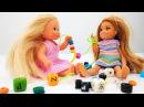 Мультики Барби. Челси и Штеффи готовят подарок для Барби 🎁 Видео и игры в куклы ...
