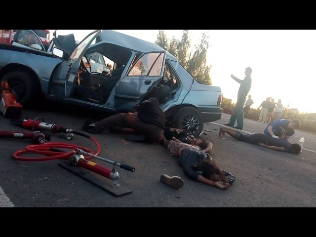 Страшная авария в КурскеПогибло 4 ребенка