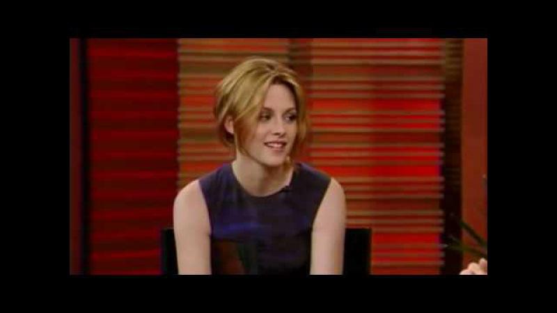 Kristen Stewart Interview On Live With Regis Kelly June 29th 2010