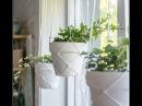 DIY MACRAME HANGING PLANTERS