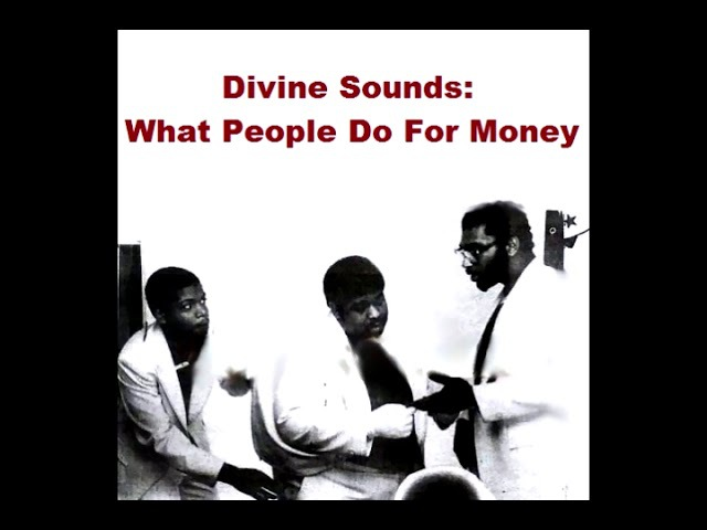 Divine Sounds - What People Do For Money (1984 / EP / Old School Hip Hop / Electro)