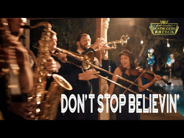 Dont Stop Believin - Journey (ONE TAKE Vintage Postmodern Jukebox Cover)