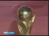 Кубок Чемпионата мира по футболу FIFA прибыл в Ярославль
