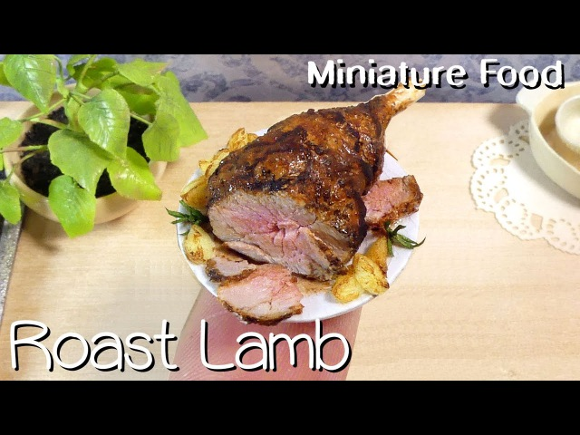 Miniature Easter Roast Leg Of Lamb Tutorial Collab With Maive Ferrando