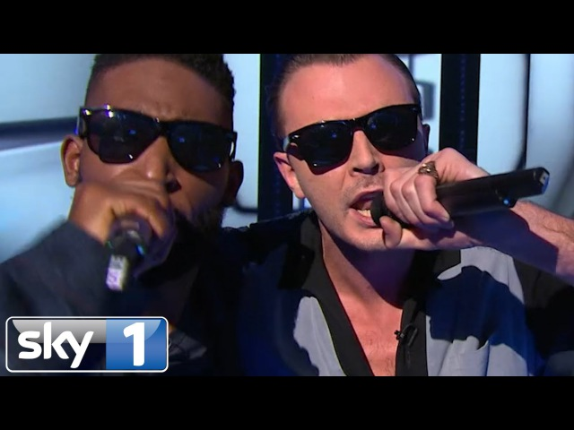 Tinie Tempah and Theo Hutchcraft Perform Men In Black   Bring The Noise