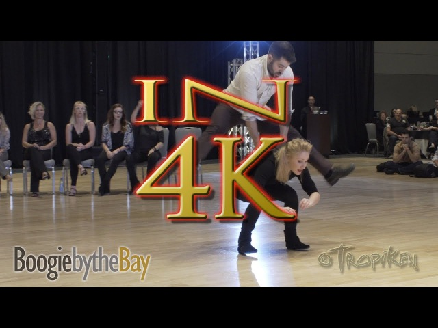 Ben Morris Victoria Henk - 2nd Place - 2017 Boogie by the Bay (BbB) Champions Jack Jill - IN 4K