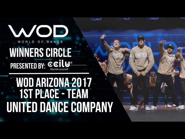 United Dance Company | 1st Place Team | Winners Circle | World of Dance Arizona 2017 | WODAZ17
