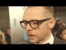 Simon Pegg BAFTA Interview