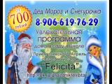 заказ Деда Мороза и Снегурочки на дом.