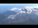 Извержение вулкана Синмоэ - 11.10.2017