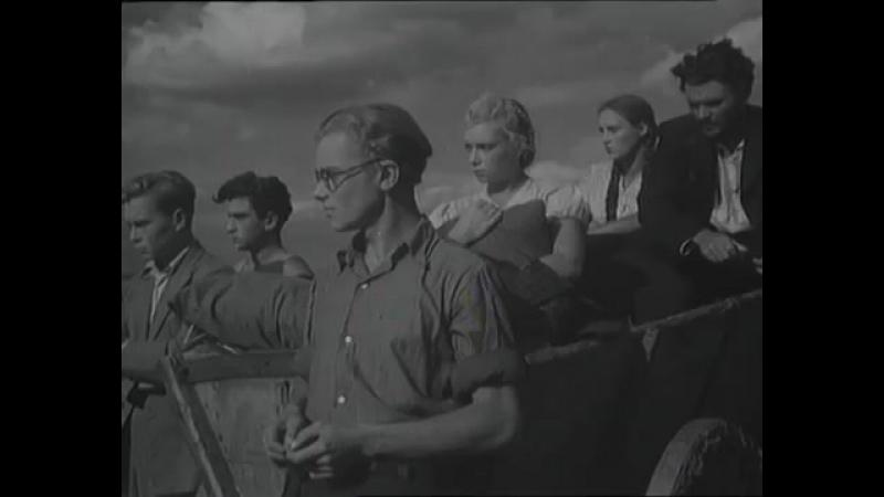 Молодая Гвардия 1948 - 1 серия Полная версия Военные фиьмы