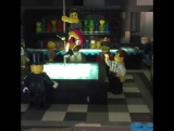 Инсталляция Lego в стену
