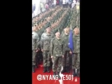 Kim Hyung Jun Basic Military Training Completion Ceremony at Nonsan 04.05.17