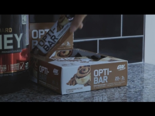 Opti-Bar - Optimum Nutrition Protein Is Now On-The-Go!
