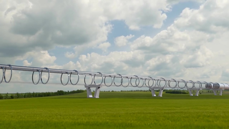 Making-of Europes 1st hyperloop test facility by Hardt BAM