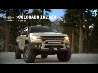 Chevrolet Colorado ZR2 AEV Concept Take Capability to the Next Level