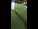 Футбольная тренировка на Спартаке