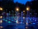Поющие фонтаны в Парке Горького г. Казань