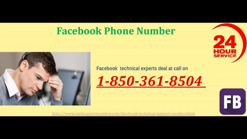 FB Account Is Not Safe: Dial Facebook Phone Number 1-850-361-8504