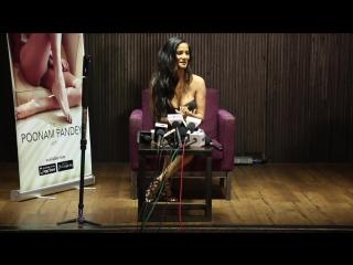 Poonam Pandey HOT At Her App Launch _ Event Uncut
