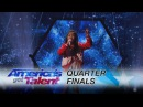 Angelica Hale 9-Year-Old Sings Incredible Clarity Cover - Americas Got Talent 2017