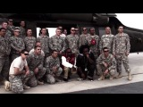 Tech N9ne Visits Soldiers on USO Tour to Middle East
