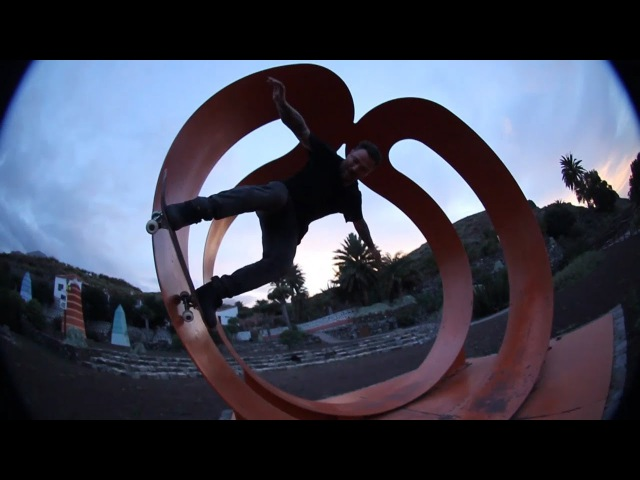 Bam Margera and friends skate Spain 2017 CKY