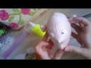 Утяжка лица текстильной куклы по выкройке Джилл Маас/ Face making Jill Maas Doll
