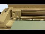 Авто нож для плоттера Silhouette Cameo 3 в работе!