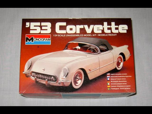 '53 Corvette by - Monogram