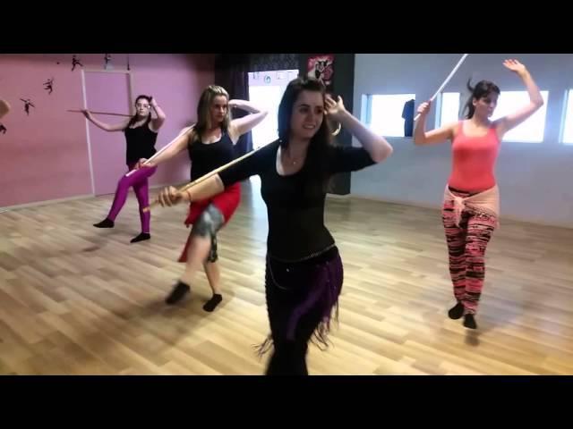 Saidi Dance with Assaya - Bellydance - Bellydrop Training with Lia Verra