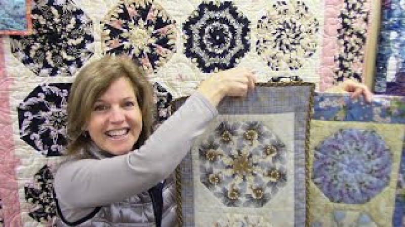 Part 1: Kaleidoscope Quilt and Table Runner Block   Let'sMake Quilting Tutorial