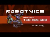 DOTA 2-- 7.07(c) Techies God RobotVice ALL TECHIES HIGHLIGHTS