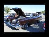 WhipAddict 57' Chevy Bel Air, Twin Turbo LS, Kandy Root Beer, 96 Impala SS Seats by BNB Restoration