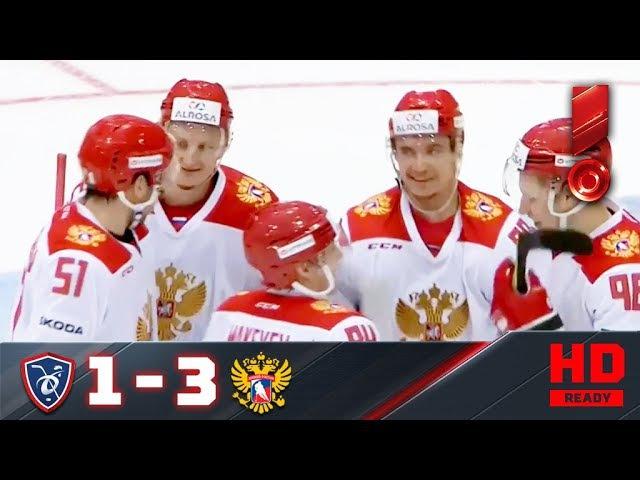 16.12.2017г. «MECA Hockey Games». Франция – Россия - 1:3. Обзор матча