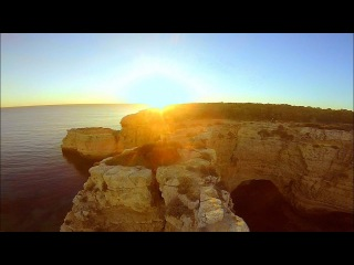 Sunset FPV cruising with Xhover Stingy - Algarve, Portugal