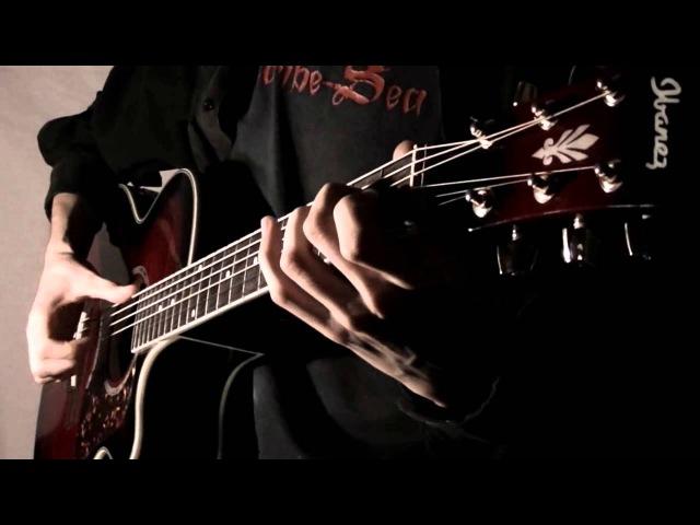 Кино Спокойная ночь│Fingerstyle guitar SOLO cover табы