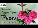 Paper flowers tutorial 75 - How to make paper flowers easy step by step - Diy BigBoom