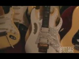 Yngwie Malmsteen shows his guitars