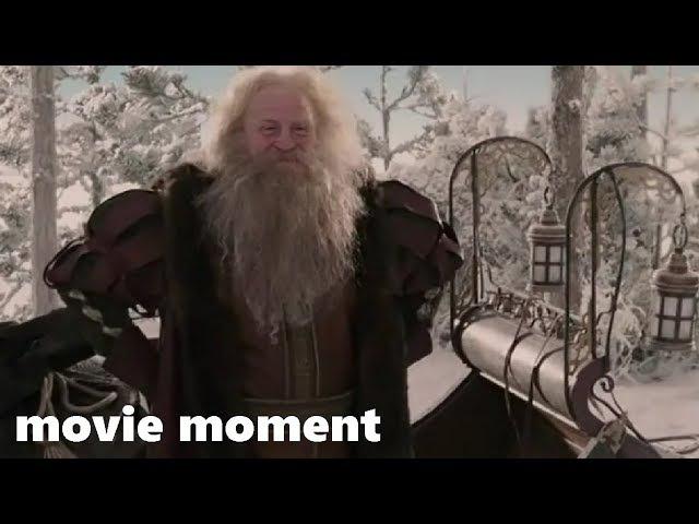 Хроники Нарнии Лев колдунья и волшебный шкаф 2005 Санта Клаус 7 13 movie moment